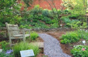 A new stone wall and stone paths 1