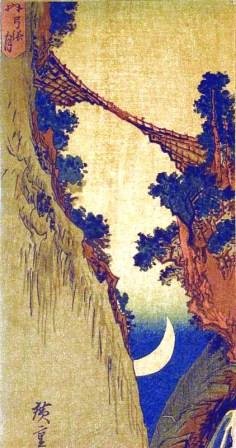 Utagawa Hiroshige (1797 – 1858), 'Yumihari-zuki,' ca. 1830-1850, woodcut on paper.