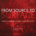"""catalog cover of """"From Source to Surface"""" exhibit"""