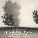 Prints by Robert Kipniss exhibition banner