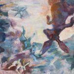 Jenny Lynn McNutt,Moon Games, oil on canvas.