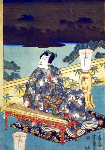Yoshiiku (aka Utagawa Yoshiiku) (1833 – 1904), unknown, ca. 1861-1862, woodcut on paper.